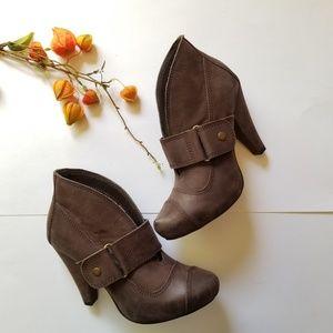 Seychelles Brown Ankle Booties0